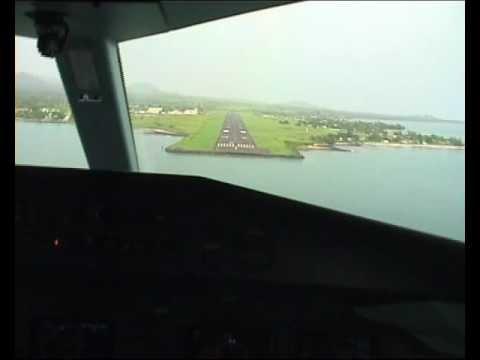 Dornier 328 flight - Lagos to Principe