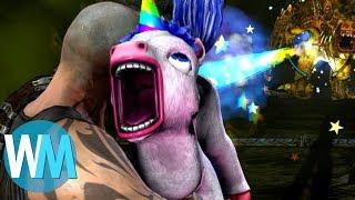 Top 10 des ARMES SECRÈTES dans les jeux vidéo !