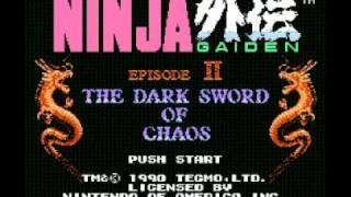 Ninja Gaiden II - The Dark Sword of Chaos (NES) Music - Act II Part 2