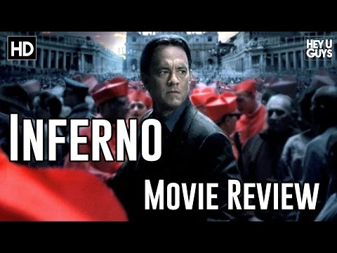 Inferno Movie Review (Tom Hanks / Felicity Jones)