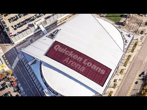 Quicken Loans Arena Restores Roof With Tremco