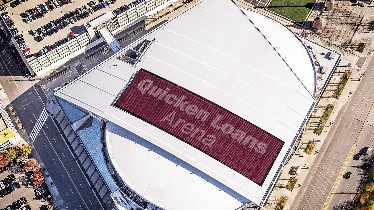Quicken Loans Arena Restores Roof With Tremco Youtube
