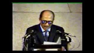 خطاب محمد انور السادات فى الكنيست الاسرائيلي - كامل