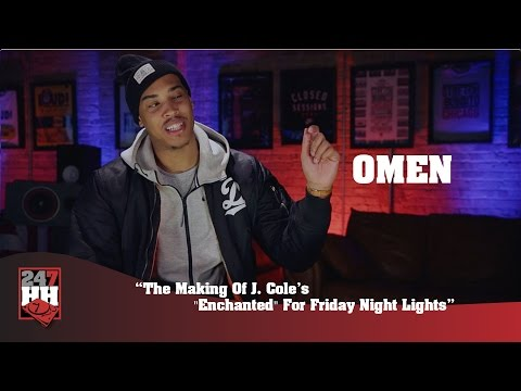 """Omen - The Making Of J. Cole's """"Enchanted"""" For Friday Night Lights (247HH Exclusive)"""