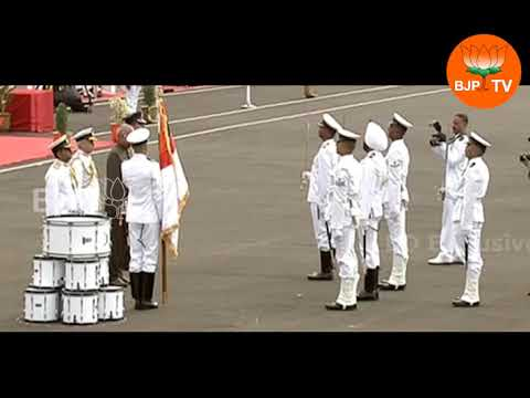 Presidential Colours awarded to honour Indian Navy's Submarine Army