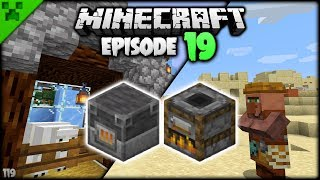 fast smelting overhauled villagers pythons world minecraft survival lets play s2 episode 19