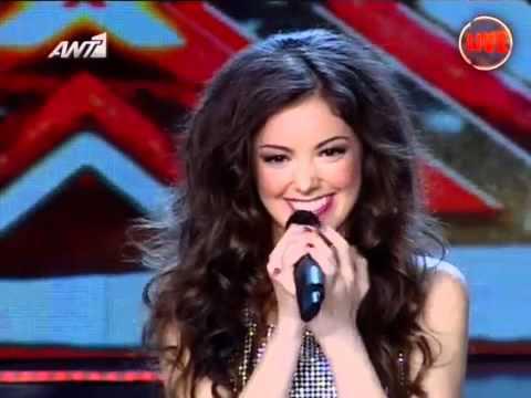 Nikki Ponte - X Factor 3 Greece - Live Show 9