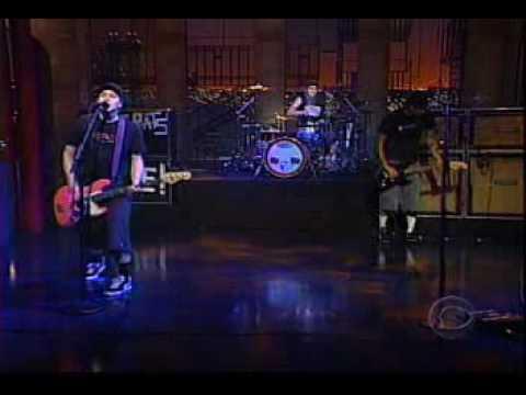 blink-182 - The Rock Show   (Live - David Letterman)
