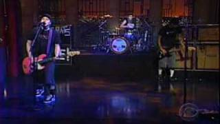 Blink-182 - The Rock Show    Live - David Letterman