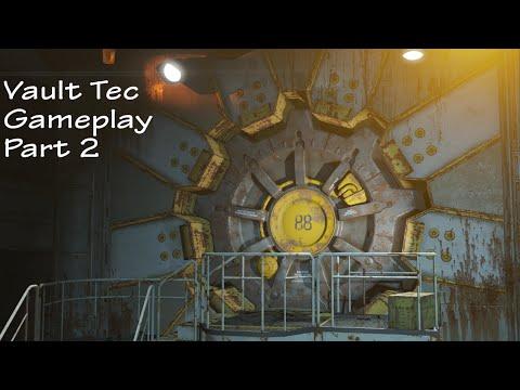 Fallout 4 Vault tec workshop DLC gameplay part 2