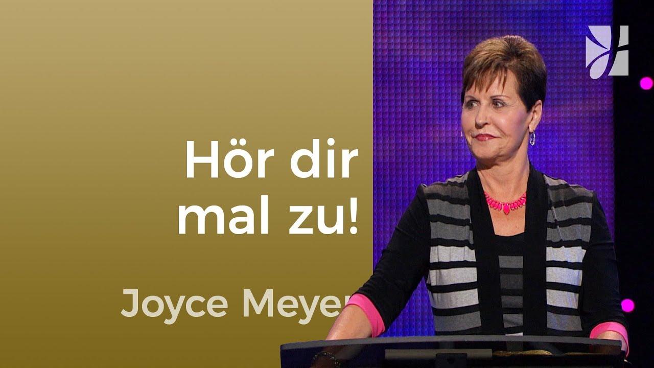 Es kann spannend werden: Hör dir mal zu! – Joyce Meyer – Gedanken und Worte lenken