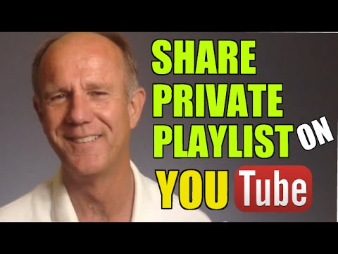 How To Share A Private Playlist On YouTube - Tutorial
