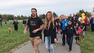 Walk of Light led by Erik and Melinda Karlsson