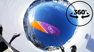 SpeedFlying at Mont Blanc | VR 360° Video