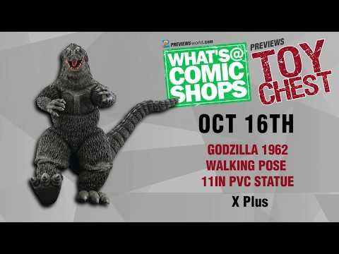 Caastlevania, Voldermort, Godzilla: PREVIEWSworld ToyChest For 10/16/2019