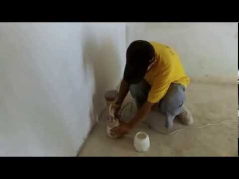 Hvlp Spray Gun Haupon Tm 663a Spray Latex Paint Youtube