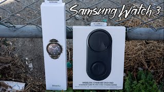 Samsung Galaxy Watch 3 | Mystic Silver 41mm | Unboxing | First Impressions | Setting Up