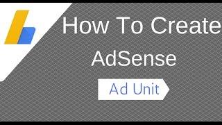 So Erstellen Der AdSense-Anzeige-Einheit