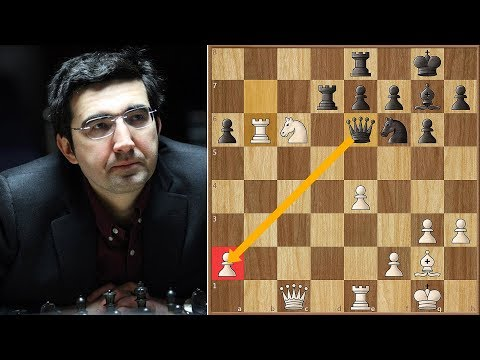 Big Vlad's Poisoned Pawn  | Kramnik vs Radjabov | Candidates Tournament 2013. | Round 11