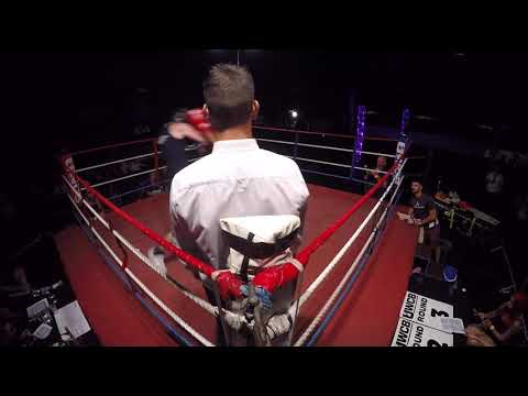 Cardiff | Ultra White Collar Boxing | Tyrone Strickland VS Curtis Gibson