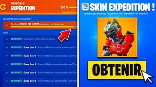 "🎁 VOICI THE NEW SKIN ""EXPEDITION"" FREE ON FORTNITE!"
