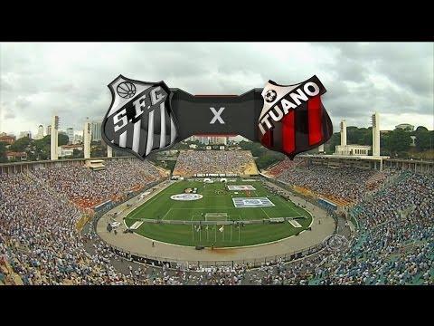 Pênaltis - Santos 6 x 7 Ituano - Paulistão 2014 - 13/04/2014