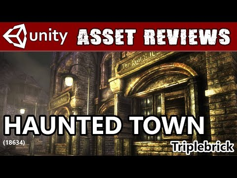 Unity Asset Kit Reviews - Haunted Town!