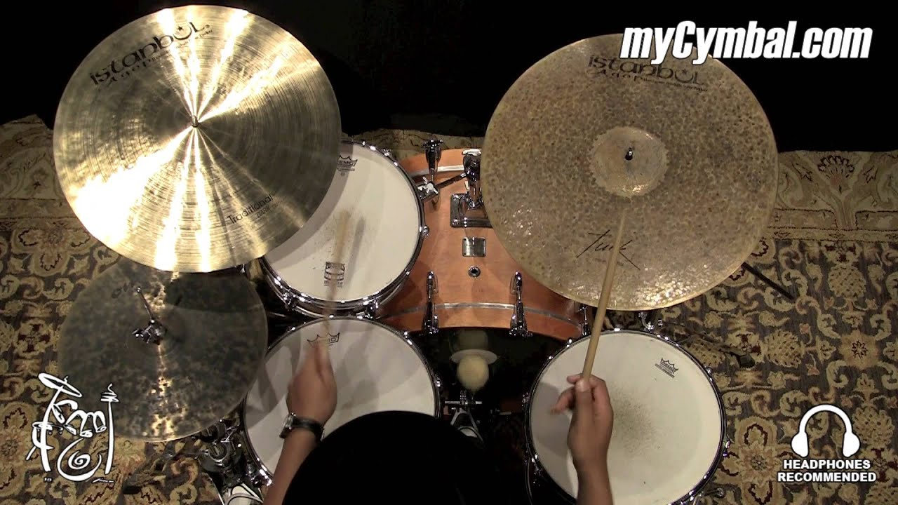 istanbul agop 22 turk jazz ride cymbal played by terence clark tjr22 1041315ff youtube. Black Bedroom Furniture Sets. Home Design Ideas