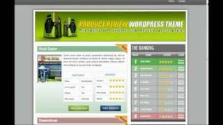 Make money online - product review wordpress theme (part 1 of 2)
