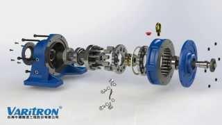 Cấu tạo của động cơ giảm tốc Cyclo của Sumitomo