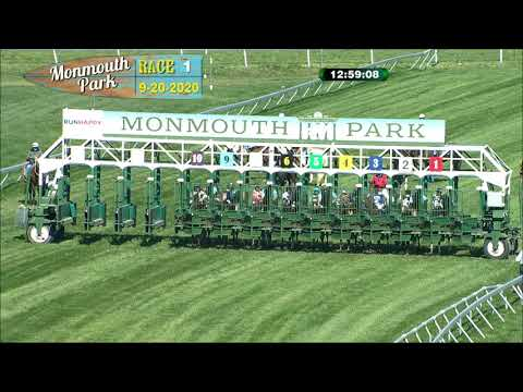 video thumbnail for MONMOUTH PARK 09-20-20 RACE 1
