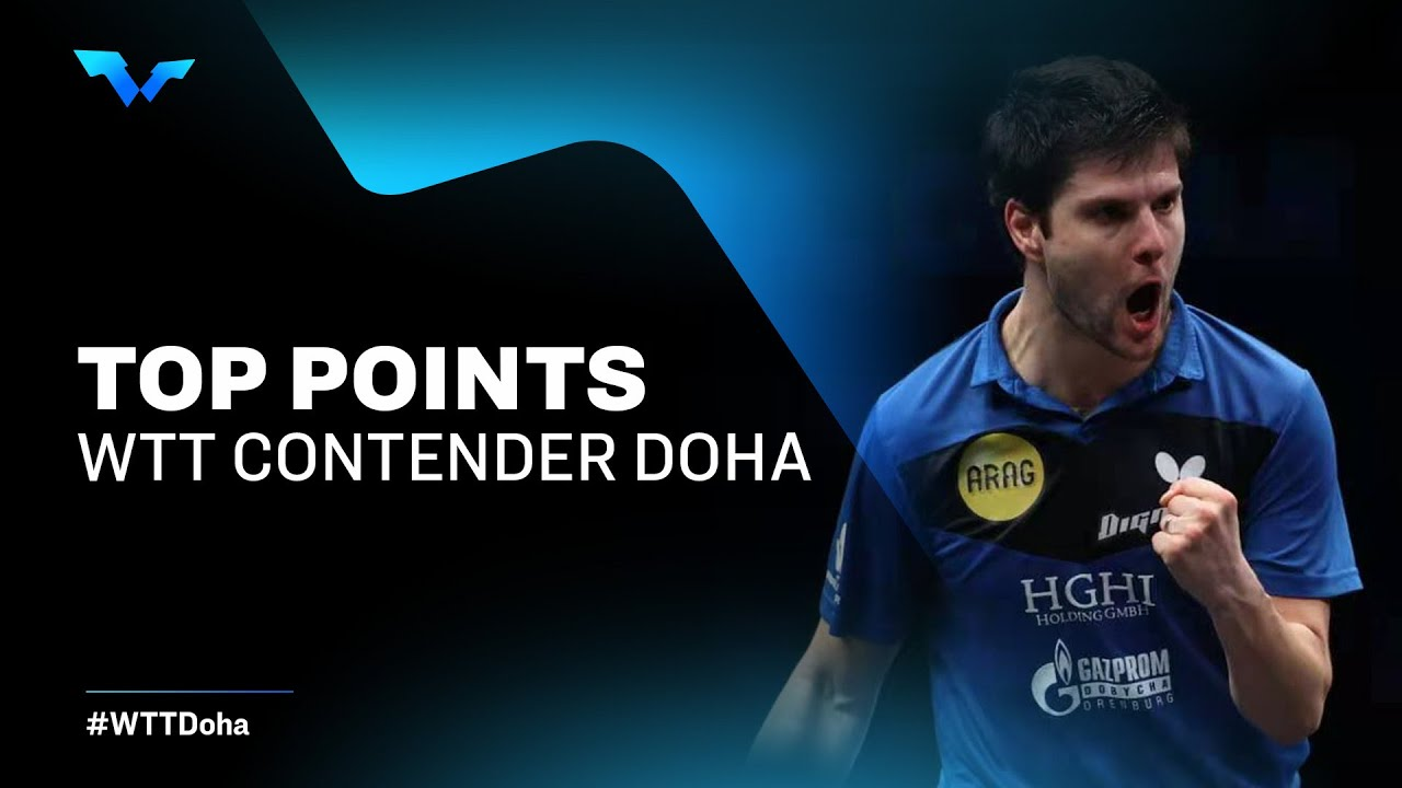 Download JAW-DROPPING TABLE TENNIS RALLIES!   WTT Contender Doha 2021