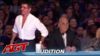 Simon Cowell STORMS Off Set After FAILED Acts Who Got The Red Buzzer!