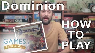 How to play Dominion - Games Explained