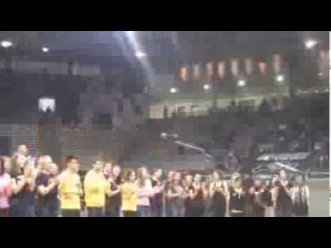 CU Fight song at University of Colorado Boulder Admitted Student Day 2013