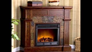 Cartwright Convertible Electric Fireplace ; Electric Fireplace Media, Ventless Electric Fireplace