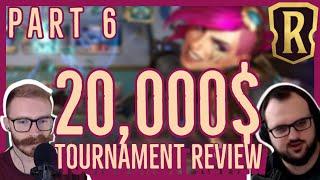 TOUGH Game  |  Seasonal Tournament Top 8 Analysis with Alanzq  |  Legends Of Runeterra