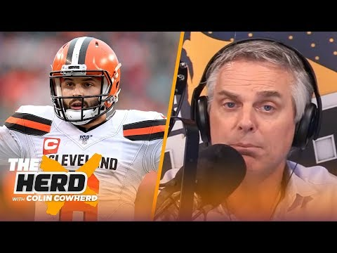 Colin predicts if AFC teams will go over or under projected win totals in 2020 | NFL | THE HERD