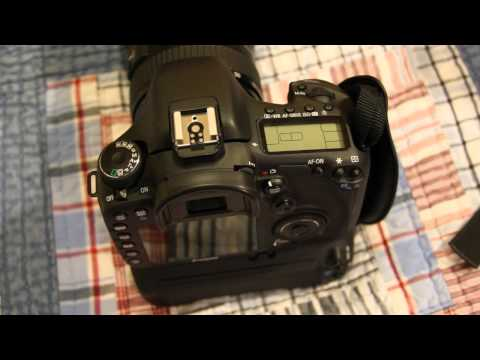 Canon 7D - High School Yearbook Photographer's Camera Setup