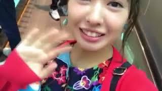 ファンクラブツアーで台湾に行ってます。 声がwww 山田菜々(なな・...