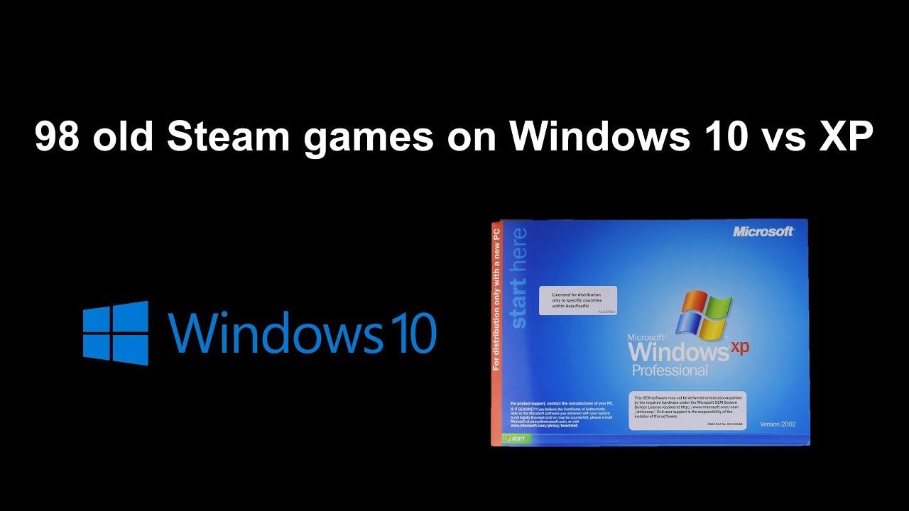 xp games on windows 10
