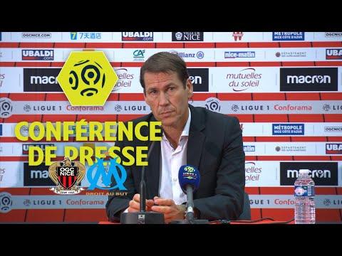 Conférence de presse OGC Nice - Olympique de Marseille (2-4) - Ligue 1 Conforama / 2017-18