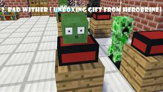 Monster School  Top Wither Skeleton Moments