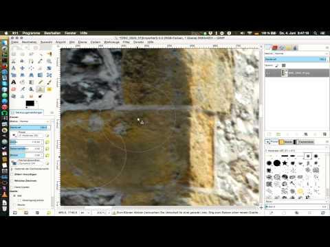 Bildbearbeitung in GIMP #3: Fotoretusche und Magie