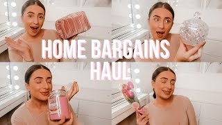 HUGE HOME BARGAINS HAUL! NEW IN | Valentines Day Gifts, Interior, Mothers Day | Hazel Maria Wood