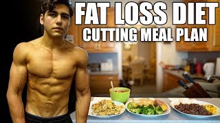 MY FAT LOSS DIET: Cutting Meal Plan   Meal By Meal