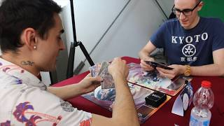 Mangaka e Tuberanza si sfidano! - Cardfight!! Vanguard - Nazionali 2017