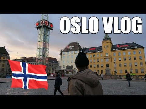 DAY OUT IN OSLO - NORWAY VLOG