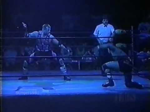 Glacier's WCW Debut