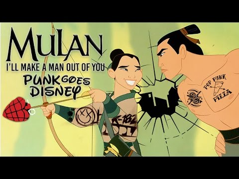 "Mulan - I'll Make A Man Out of You [Band: Broken City Sky] (Punk Goes Disney Cover) ""Pop Punk"""